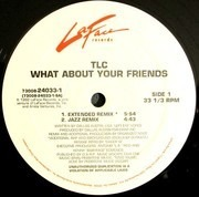 12inch Vinyl Single - Tlc - What About Your Friends - Generic Sleeve