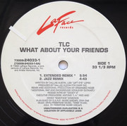 12inch Vinyl Single - Tlc - What About Your Friends - Picture Cover