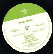 Double LP - Tocotronic - Pure Vernunft Darf Niemals Siegen - original