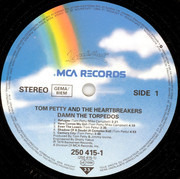 LP - Tom Petty And The Heartbreakers - Damn The Torpedoes