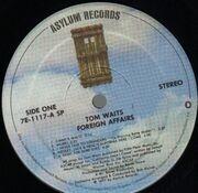LP - Tom Waits - Foreign Affairs