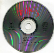 CD Single - Tom Waits - Who Are You
