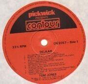 LP - Tom Jones - Delilah