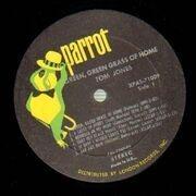 LP - Tom Jones - Green, Green Grass Of Home