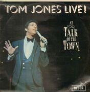 LP - Tom Jones - Tom Jones Live! At The Talk Of The Town