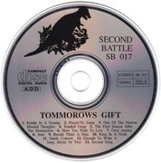 CD - Tomorrow's Gift - Tomorrow's Gift