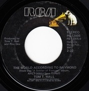 7'' - Tom T. Hall - Soldier Of Fortune / The World According To Raymond
