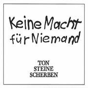 Double LP - Ton Steine Scherben - Keine Macht Für Niemand