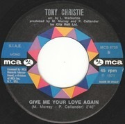 7inch Vinyl Single - Tony Christie - I Did What I Did For Maria