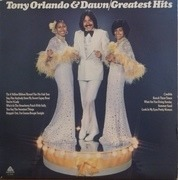 LP - Tony Orlando & Dawn - Greatest Hits