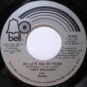 7'' - Tony Orlando & Dawn - Look In My Eyes Pretty Woman / My Love Has No Pride