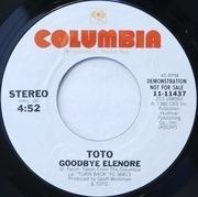 7'' - Toto - Goodbye Elenore