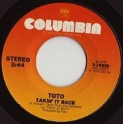 7'' - Toto - Hold The Line