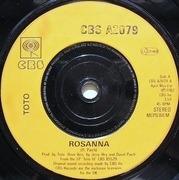 7'' - Toto - Rosanna