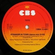 12'' - Toto - Stranger In Town (Dance Mix)