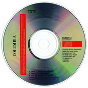 CD Single - Toto - Don't Chain My Heart