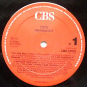 LP - Toto - Fahrenheit
