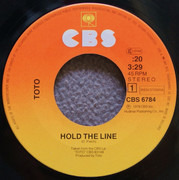 7inch Vinyl Single - Toto - Hold The Line
