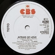 7'' - Toto - I Won't Hold You Back
