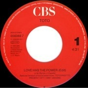 7inch Vinyl Single - Toto - Love Has The Power