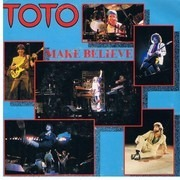 7inch Vinyl Single - Toto - Make Believe / We Made It - Orange Injection Labels