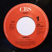7inch Vinyl Single - Toto - Pamela