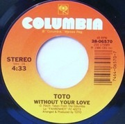 7inch Vinyl Single - Toto - Without Your Love