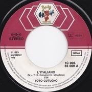 7'' - Toto Cutugno - L'Italiano