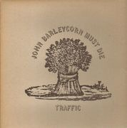 LP - Traffic - John Barleycorn Must Die - pink rim UK