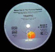 LP - Traffic - Shoot Out At The Fantasy Factory - Gimmick Cover