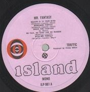 LP - Traffic - Mr. Fantasy - Original 1st mono UK, Pokora 3001