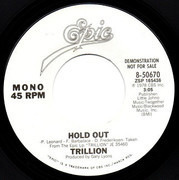 7inch Vinyl Single - Trillion - Hold Out