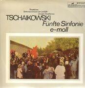 LP - Tschaikowski - Fünfte Sinfonie e-moll, Swetlanow, Staatliches Sinf-Orch der UdSSR