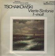 LP - Tschaikowski - Vierte Sinfonie f-moll, moll, Swetlanow, Staatliches Sinf-Orch der UdSSR