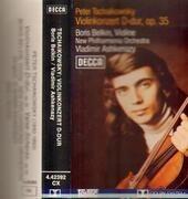 MC - Tschaikowsky / Boris Belkin - Konzert Für Violine Und Orchester D-Dur, Op.35 / Valse-Scherzo Für Violine Und Orchester, Op.34