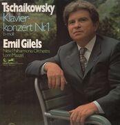 LP - Tschaikowsky - Klavierkonzert Nr. 1, Emil Gilels, New Philh. Orch., Lorin Maazel