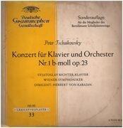LP - Tschaikowsky - Nr.1 b-moll op.23 für Klavier / Orchester