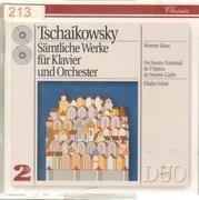 Double CD - Tschaikowsky - Sämtliche Werke Für Klavier Und Orchester