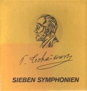 LP-Box - Tschaikowsky - Sieben Symphonien,, 1-3 Wiener Symphoniker, Swarowsky u.a.