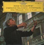LP - Tschaikowsky - Symph Nr.6,, Berliner Philh, Karajan