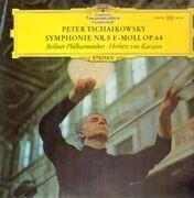 LP - Tschaikowsky - Symph Nr.5 E-Moll Op.64,, Berliner Philh, Karajan