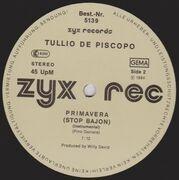 12'' - Tullio De Piscopo - Primavera (Stop Bajon)