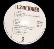 LP - U2 - October