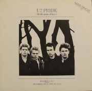 12'' - U2 - Pride (In The Name Of Love) - day/night labels