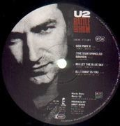 Double LP - U2 - Rattle And Hum
