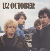 LP - U2 - October - + 16 page book