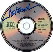 CD Single - U2 - With Or Without You - Gatefold Cardboard Sleeve