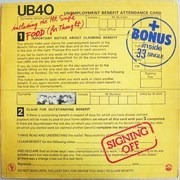 LP - UB40 - Signing Off