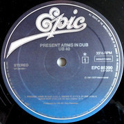 LP - Ub40 - Present Arms In Dub