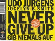 CD Single - Udo Jürgens , Jocelyn B. Smith - Never Give Up - Gib`Niemals Auf